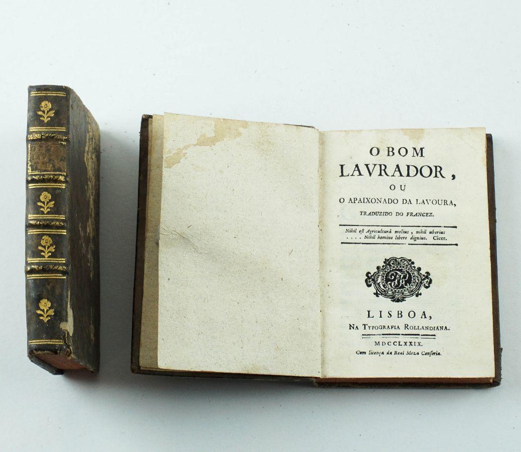 O Bom Lavrador ou O Apaixonado da Lavoura.- 1779
