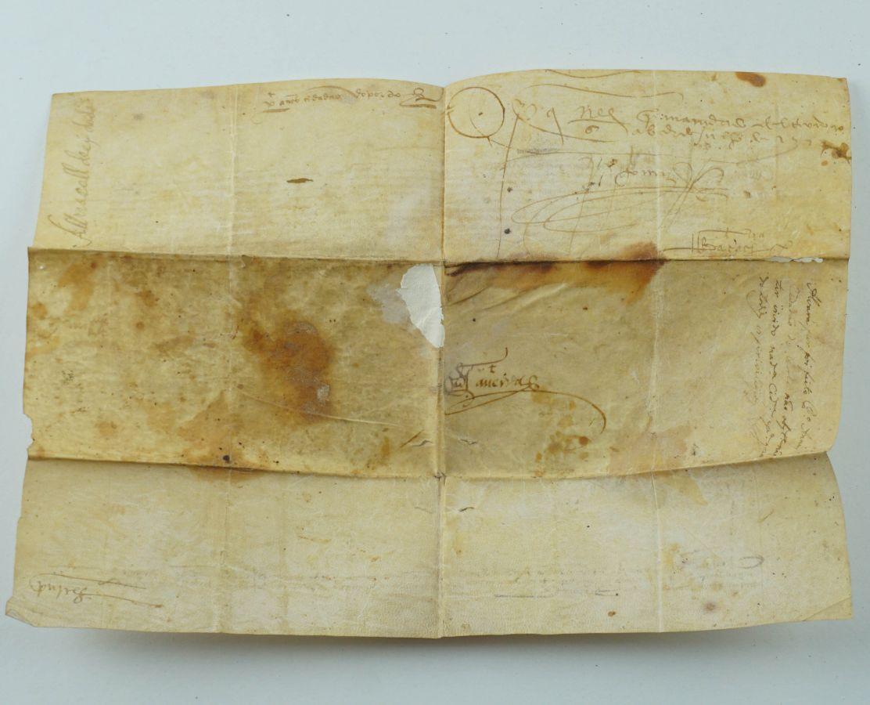 Importante pergaminho Rei D. João II cidade do Porto, Sec XV -1483