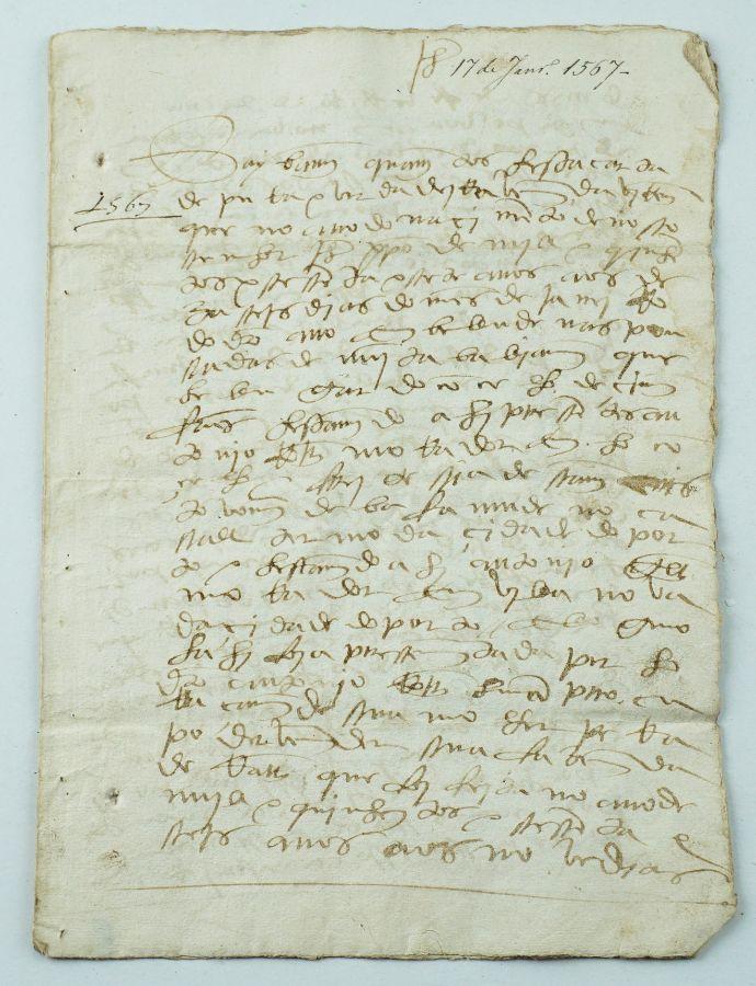 Manuscrito de Compra, cidade do Porto, 1567