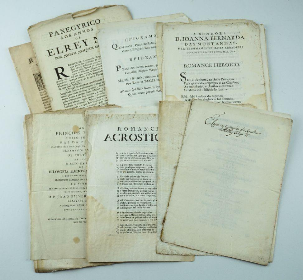 Publicações Portuguesas séc. XVIII