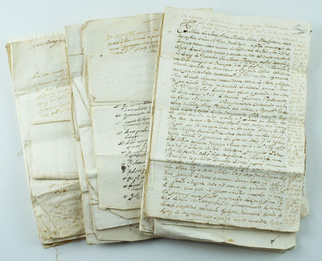 Manuscritos de concessões de foro sec XVII -Douro