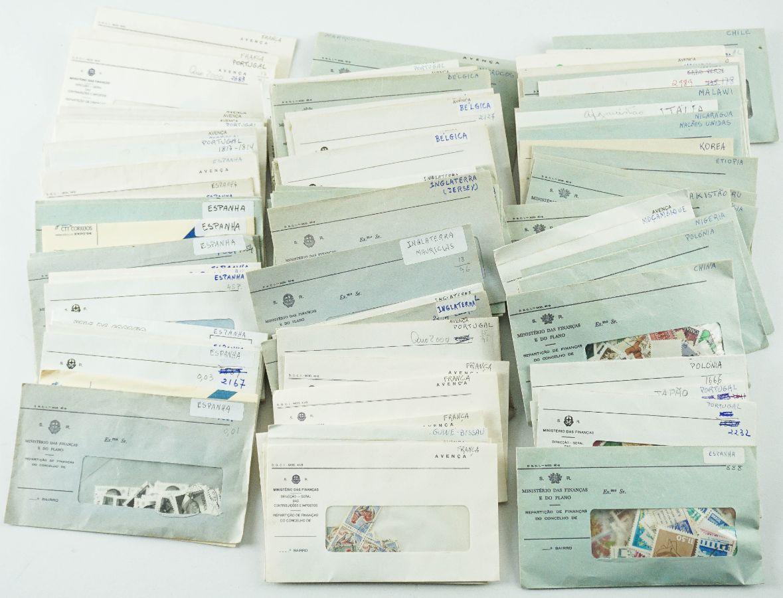 Selos em Envelopes