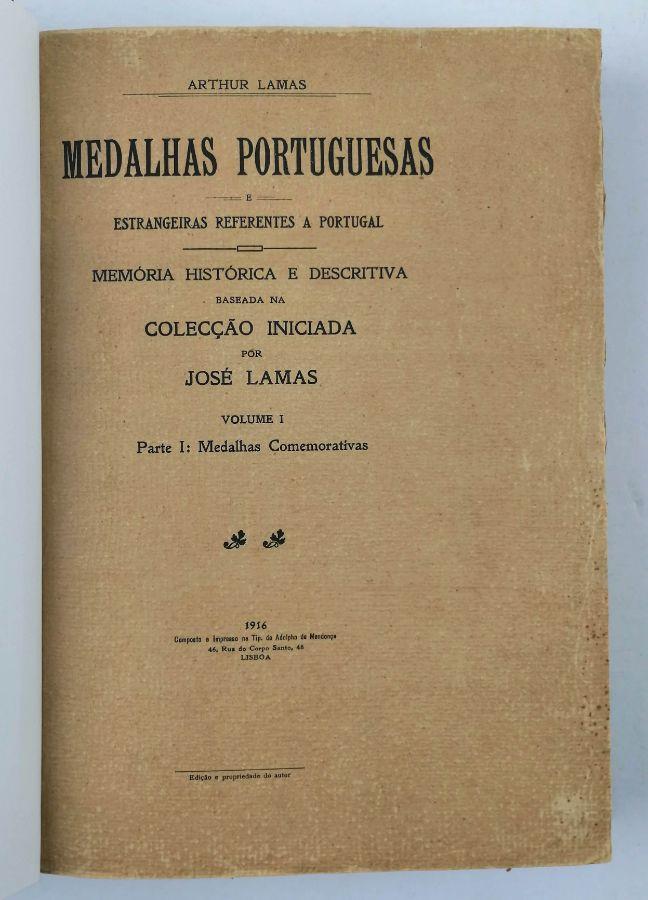 Medalhas Portuguesas e Estrangeiras referentes a Portugal