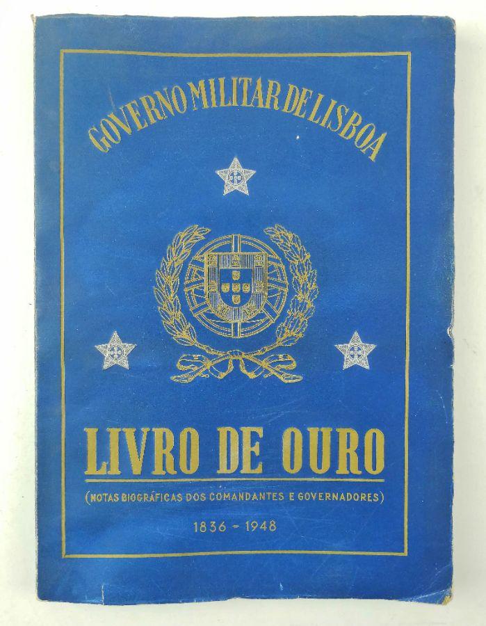 Governo Militar de Lisboa Livro de Ouro