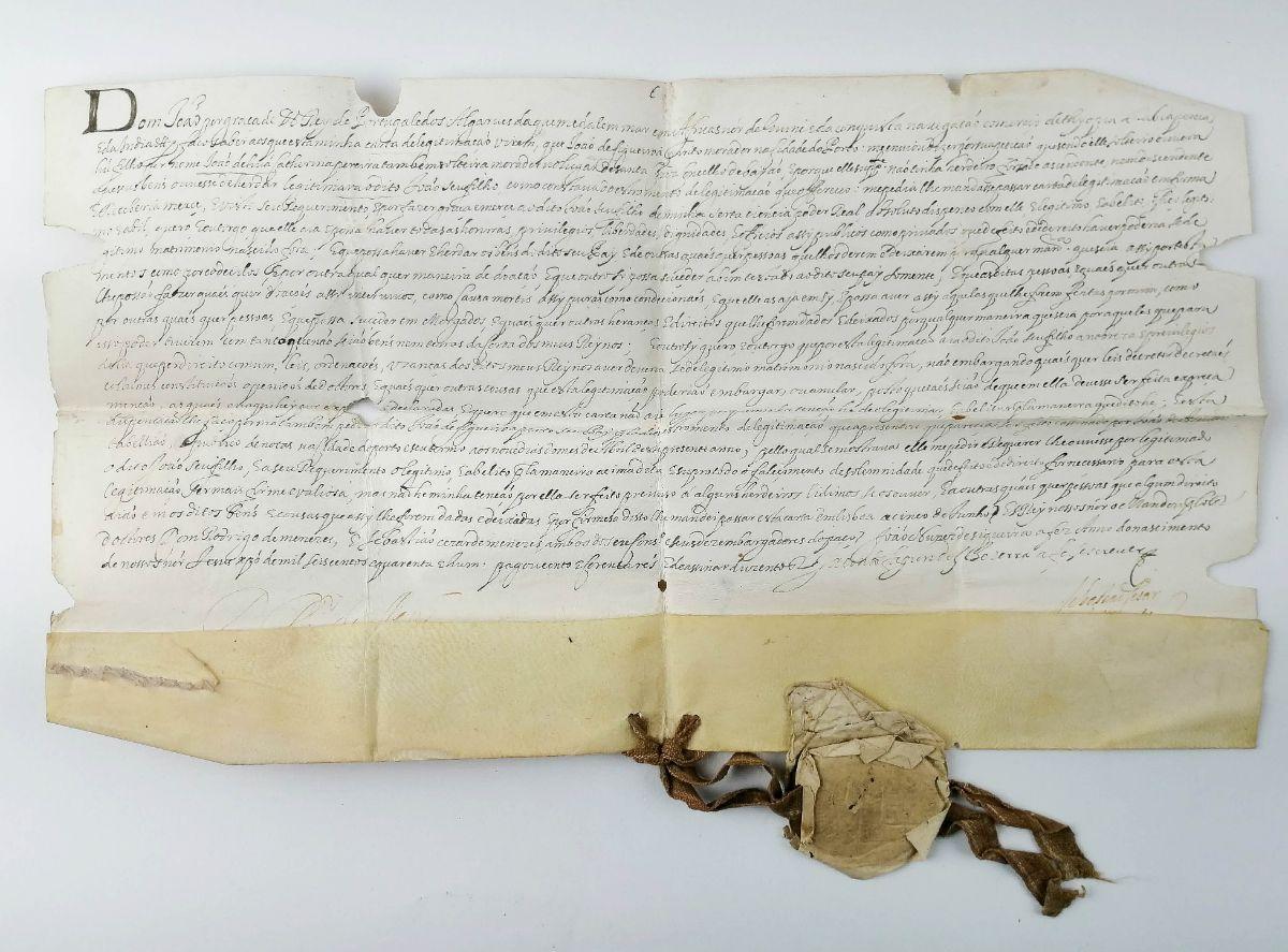 Carta Régia de D. João IV, 1641