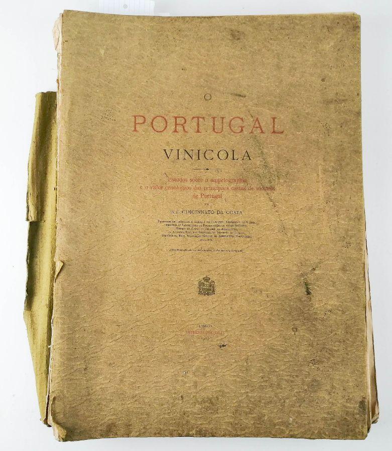 Cincinato da Costa- O Portugal Vinícola- 1900