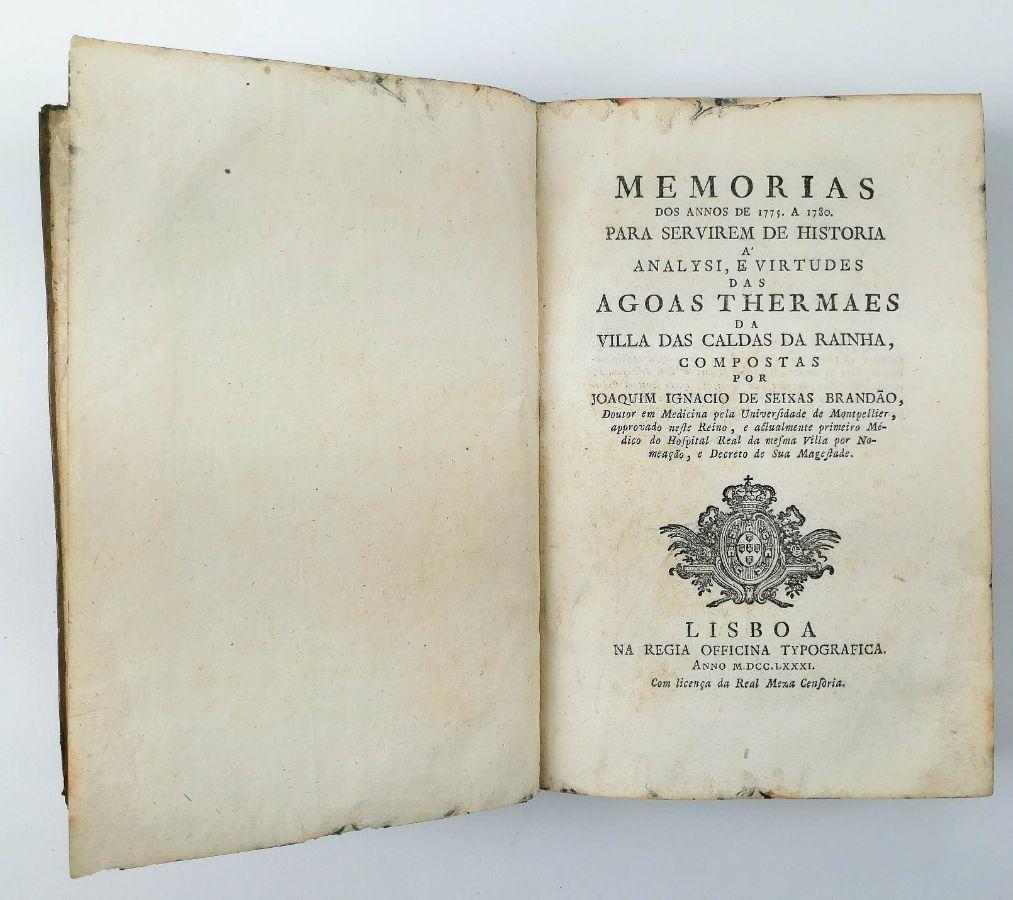 Memorias dos annos de 1775, A 1780