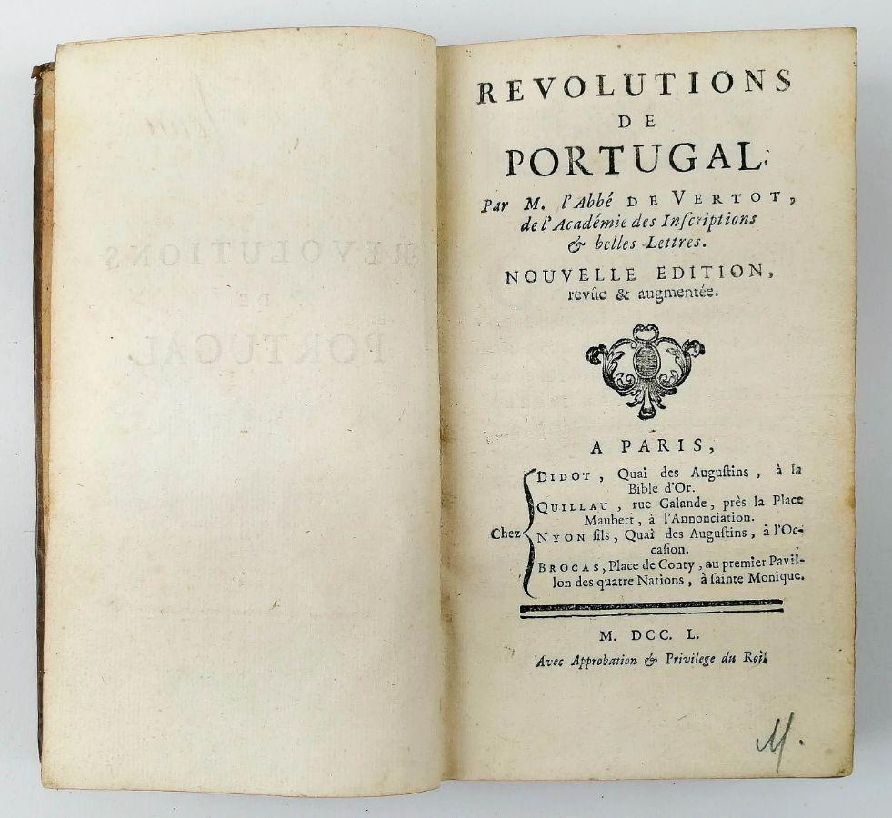 Revolutions de Portugal, 1750