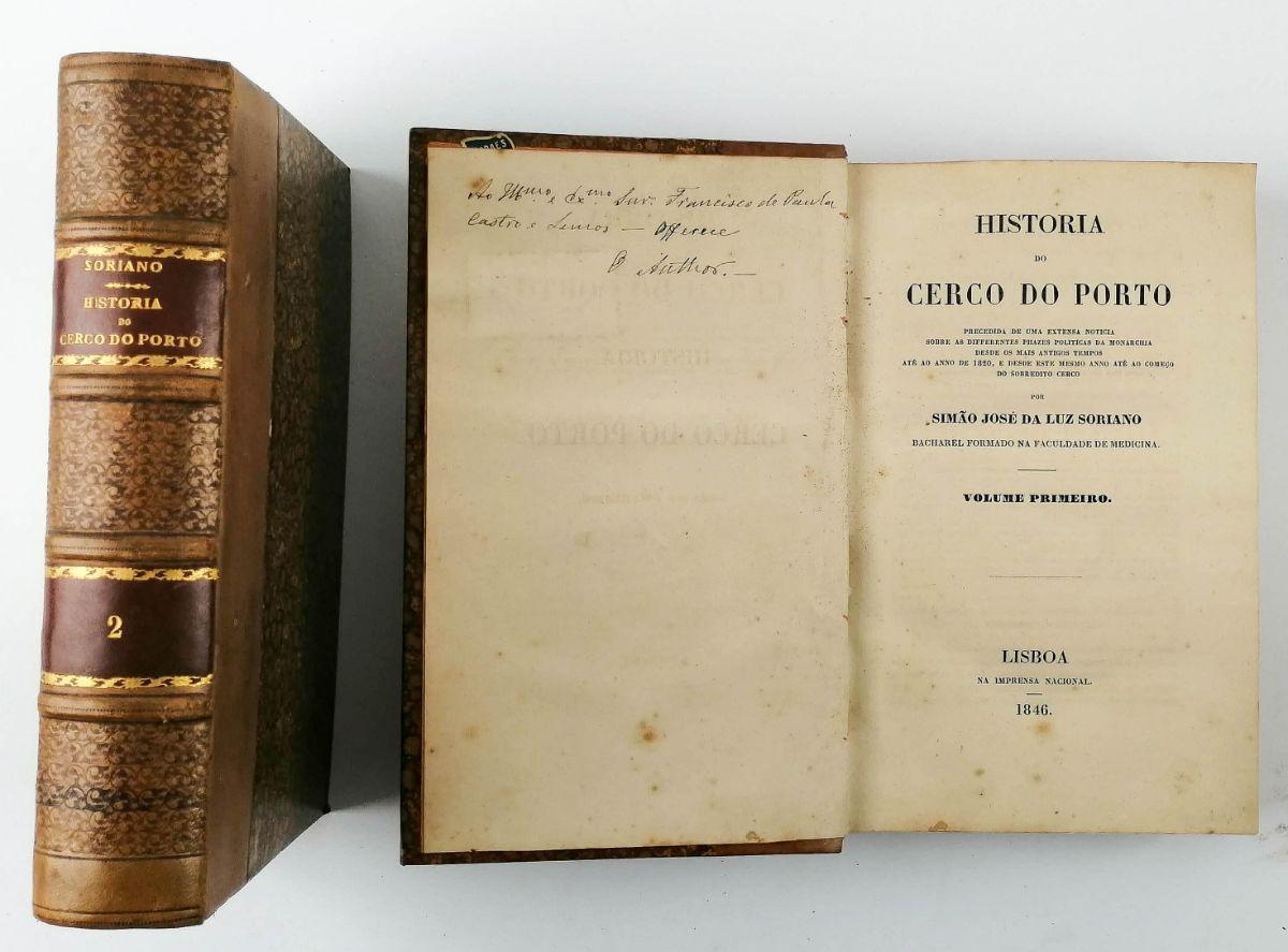História do Cerco do Porto – 1ª edição
