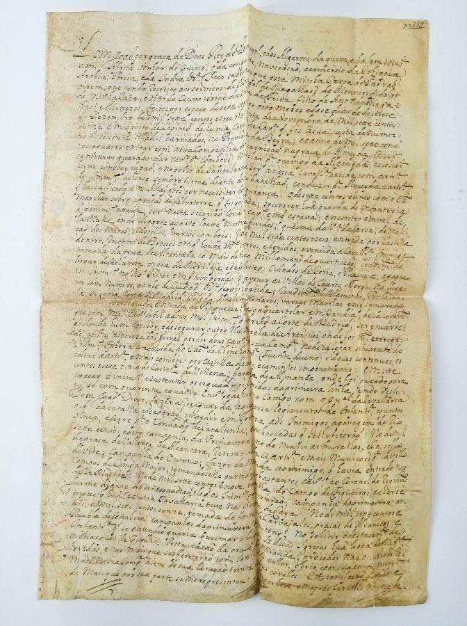 Pergaminho Rei D. João V – 1715