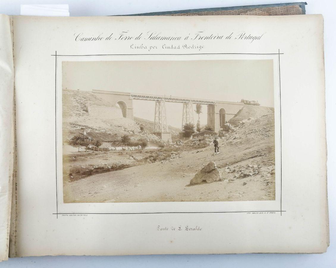 Caminho de Ferro para Salamanca e Fronteira de Portugal