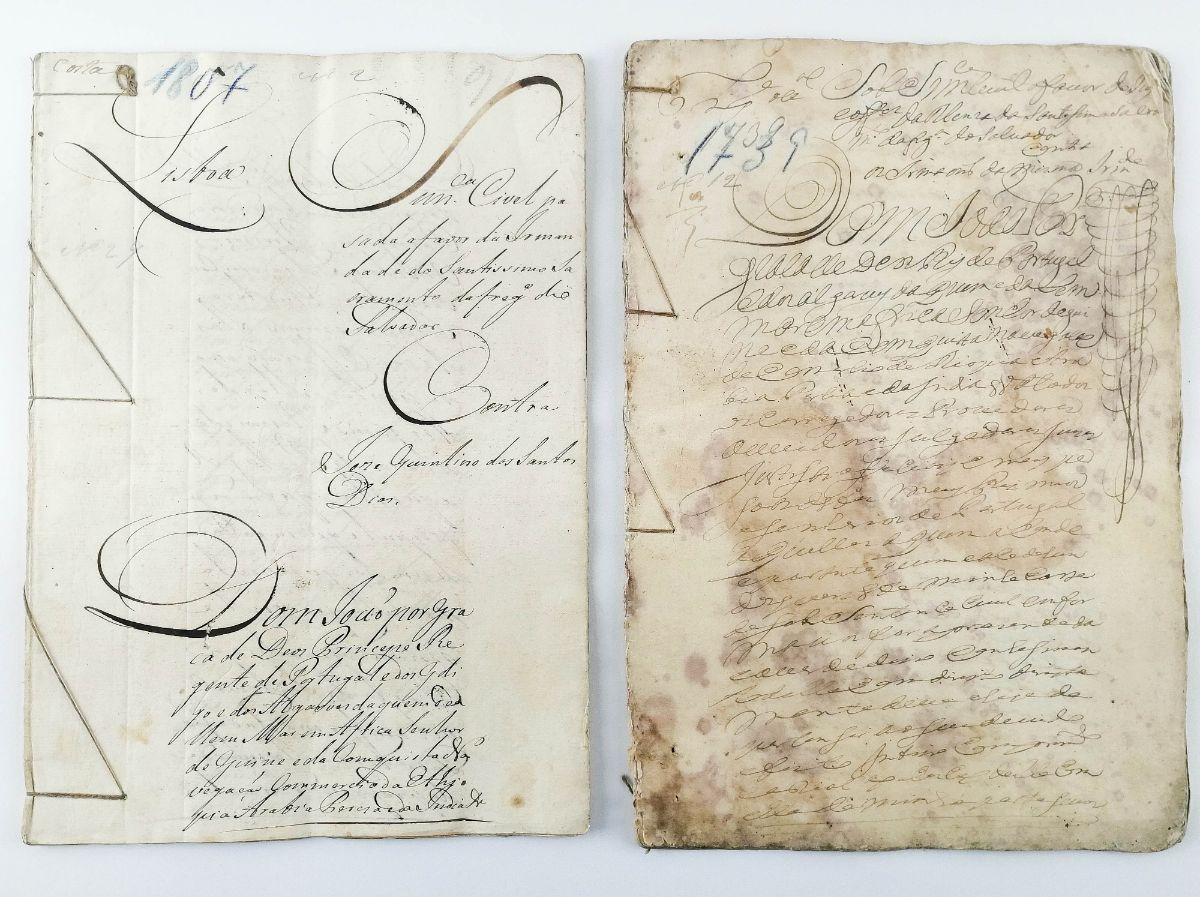 IRMANDADE DO SANTÍSSIMO SACRAMENTO DA FREGUESIA DO SALVADOR, LISBOA. 1739 - 1807