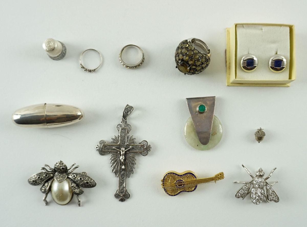 Diversas peças em Prata Portuguesa