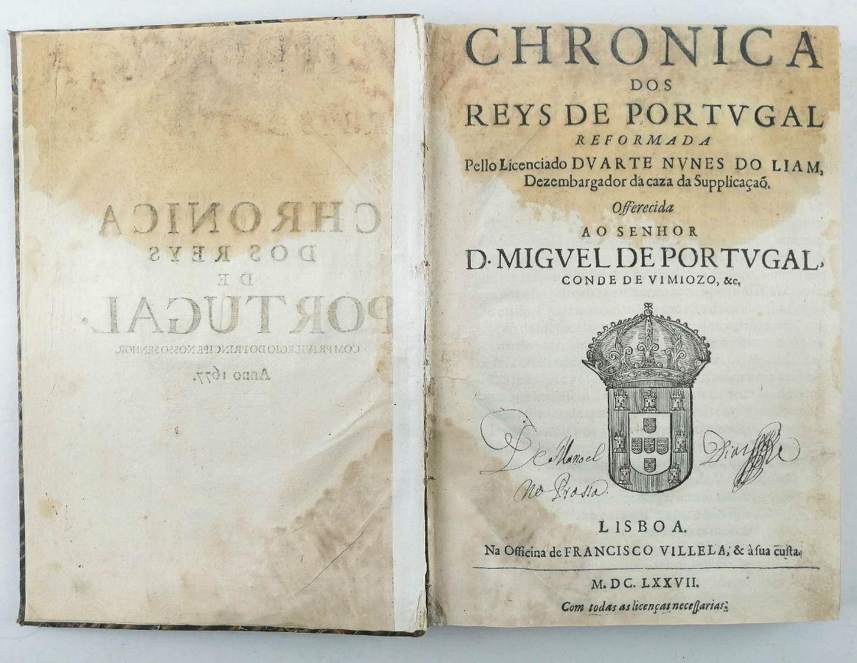 Chronica dos Reys de Portugal