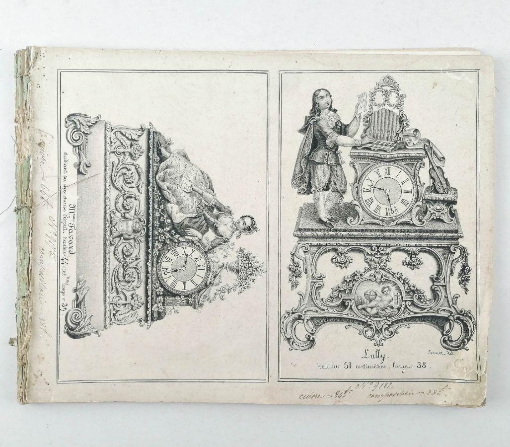Caderno de 24 litografias