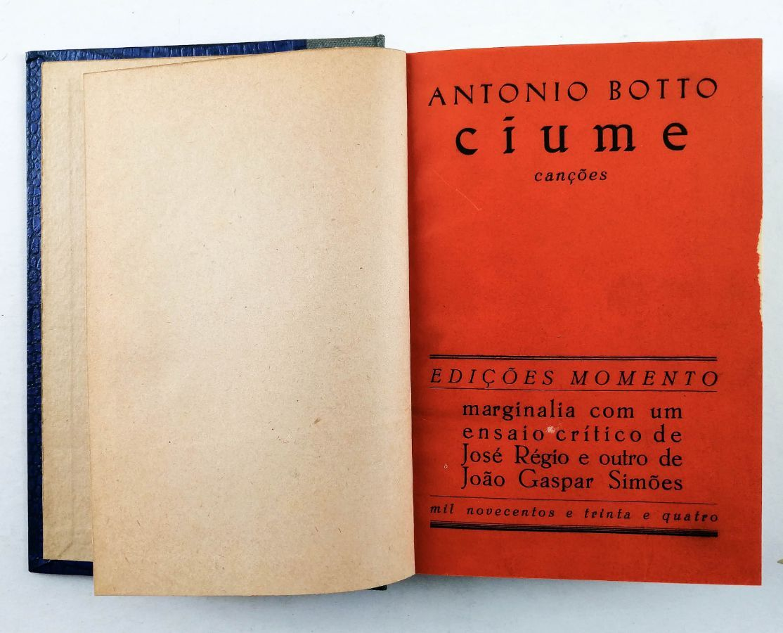 António Botto. - CIUME.