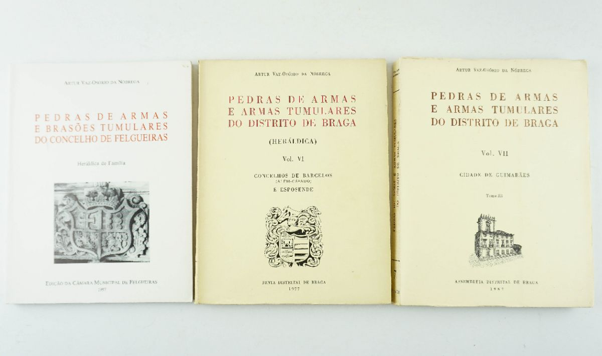 Conjunto de obras Pedras de Armas e Brasões Tumulares