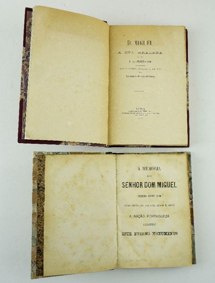 Conjunto excepcional de obras sobre Dom Miguel