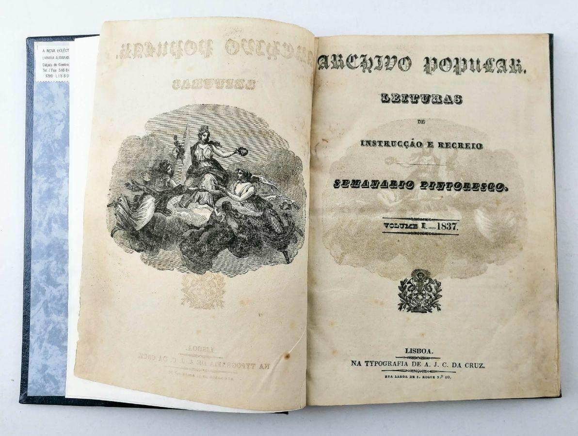 Arquivo Popular Semanário Pitoresco (1837- 1843)