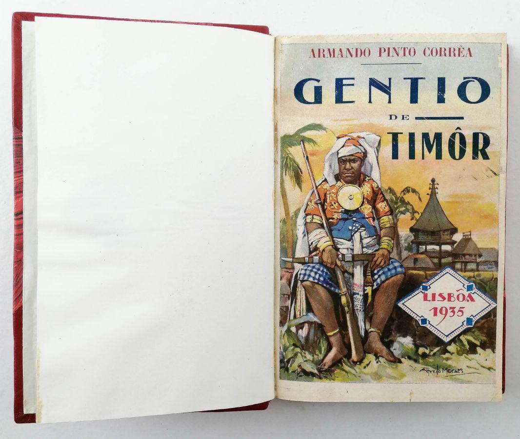 Raro livro sobre Timor