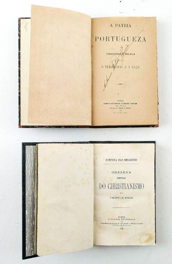 Teófilo Braga – 1ªas edições