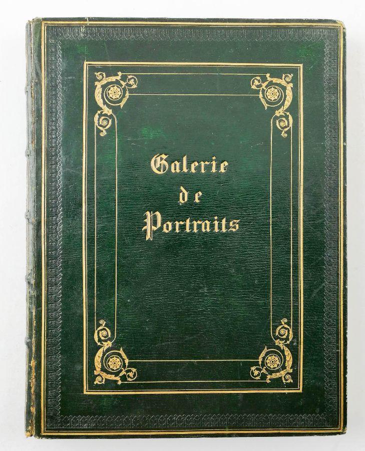 Raro álbum sobre franceses que lutaram ao lado de D. Miguel (1833)