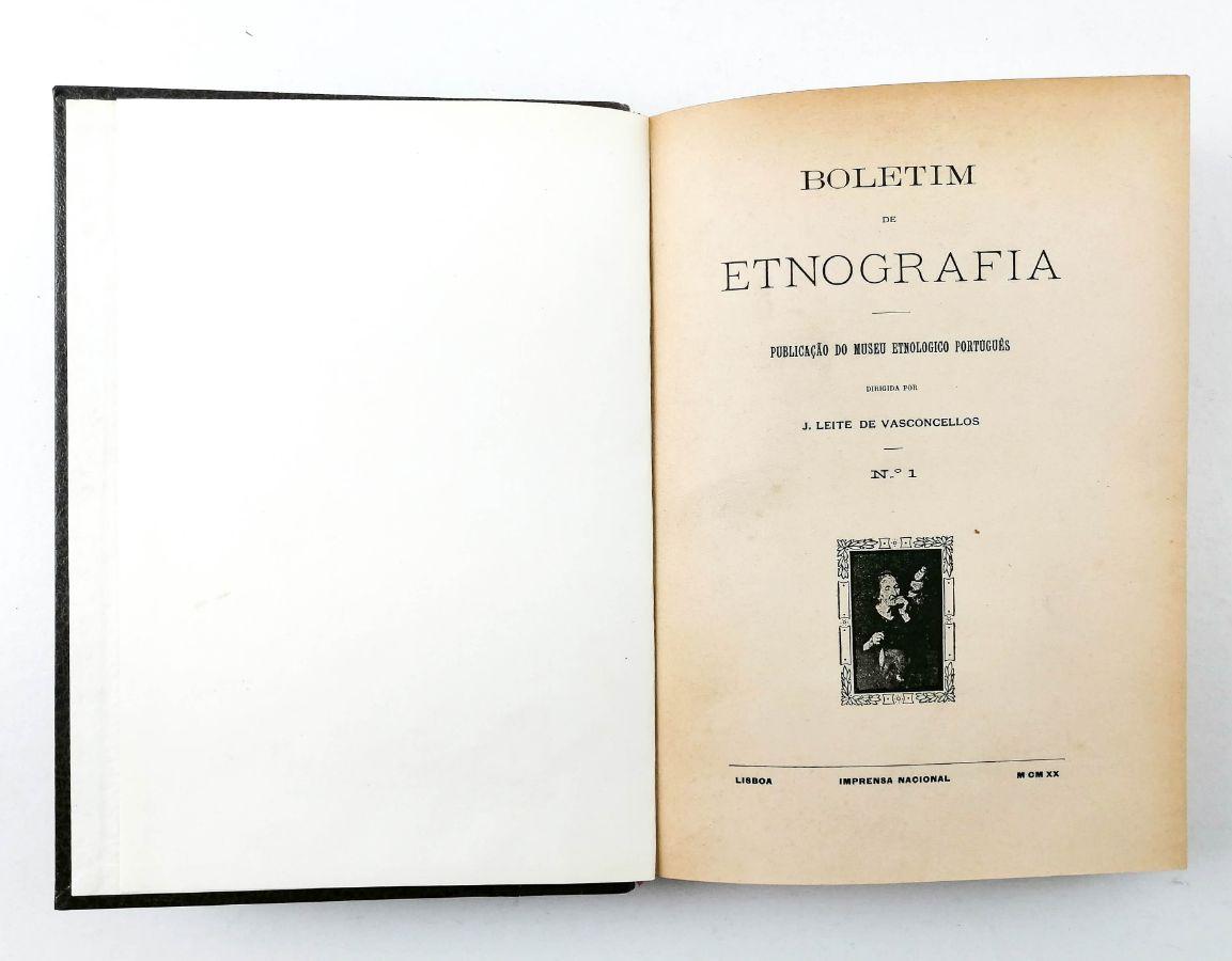 BOLETIM DE ETNOGRAFIA