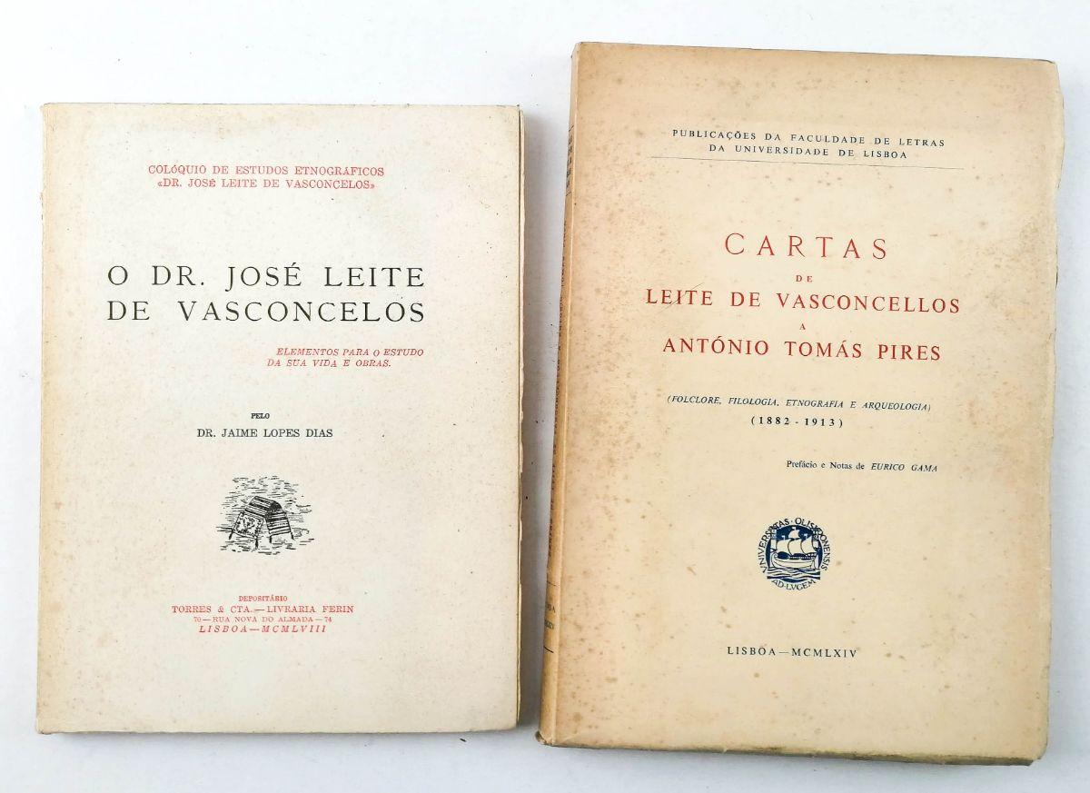 CARTAS DE LEITE DE VASCONCELLOS A ANTÓNIO TOMÁS PIRES