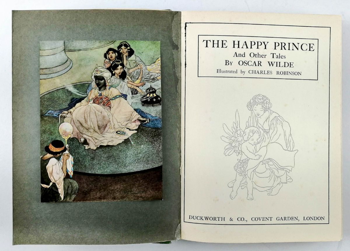 Oscar Wilde – The Happy Prince – Ilustrado por Charles Robinson
