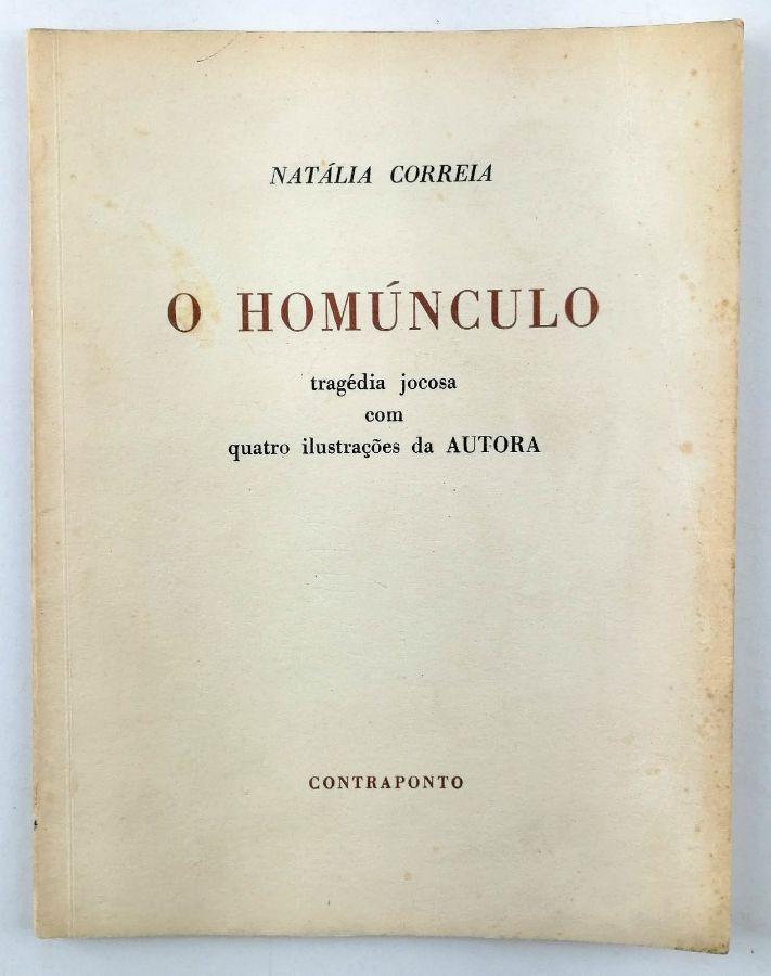 Natália Correia – com dedicatória de Luiz Pacheco (editor)