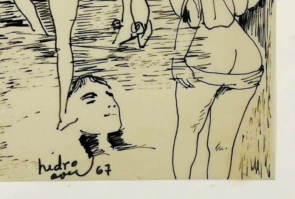 Pedro Oom – desenho original