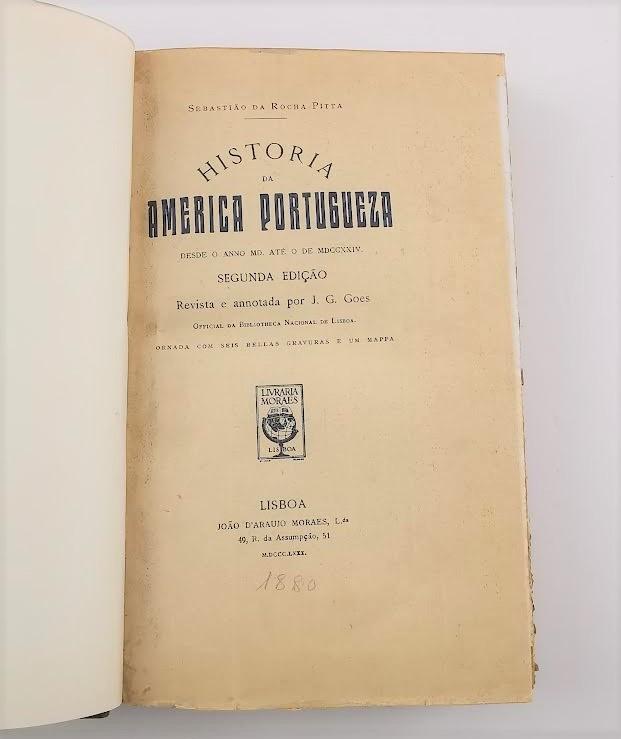 História da América Portugueza