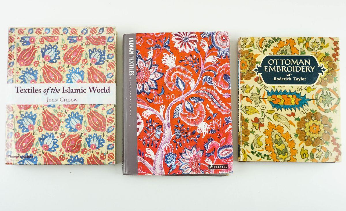 3 Livros sobre Têxteis