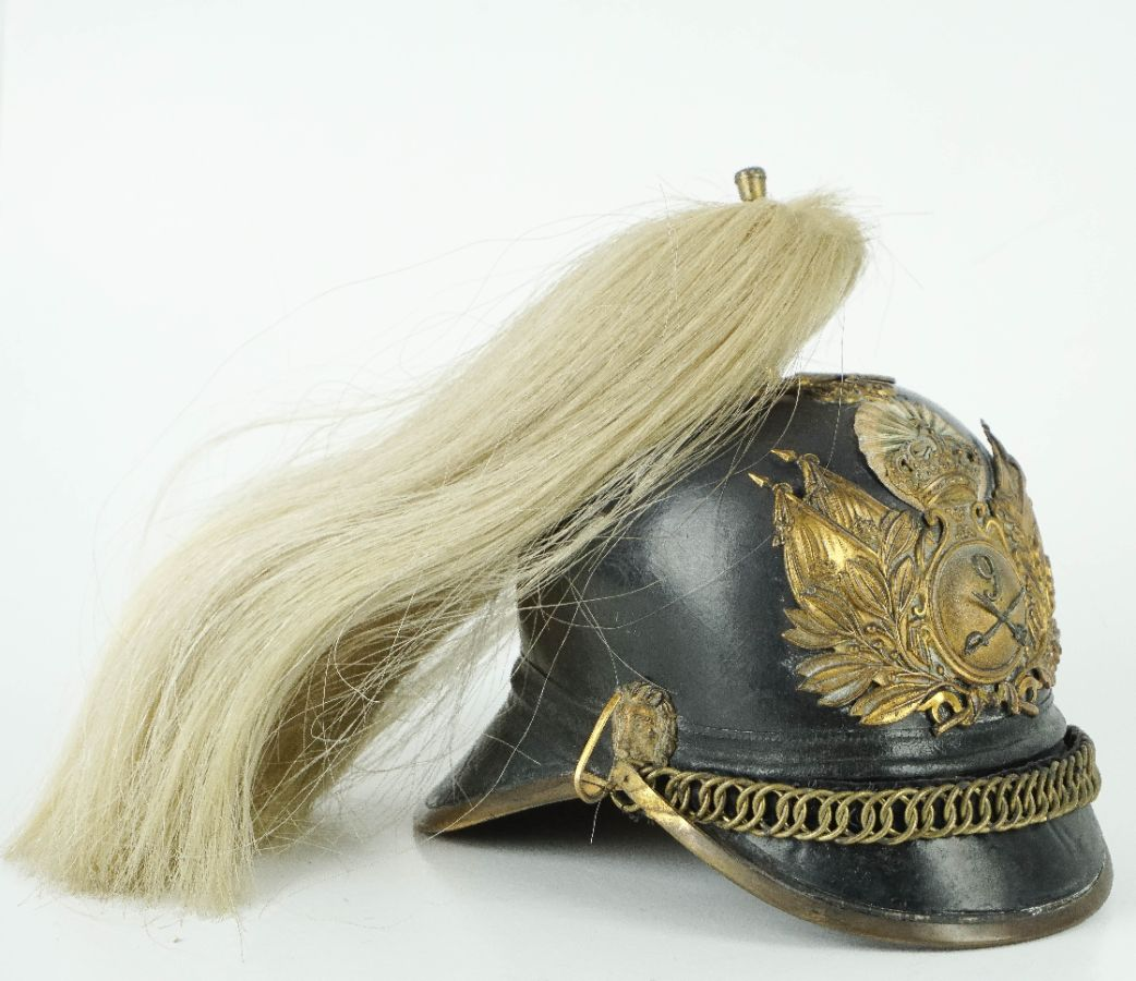 Capacete de Oficial de Cavalaria