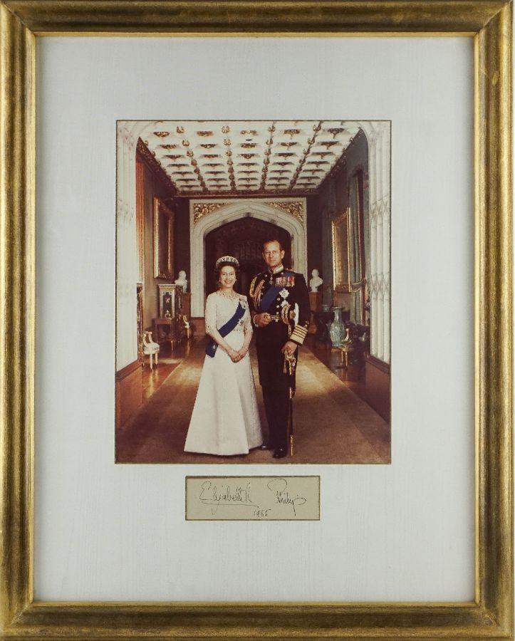 Rainha Elisabete Príncipe Filipe