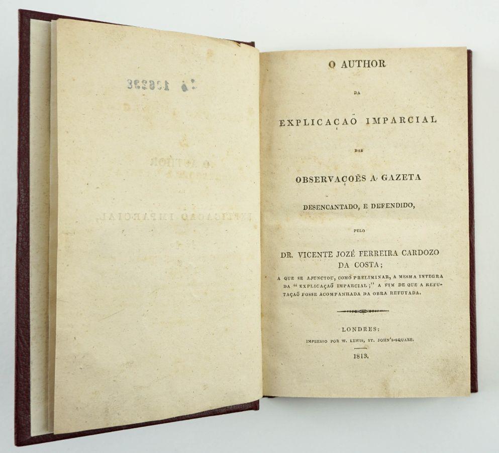 Obras sobre um maçon deportado para os Açores em 1810