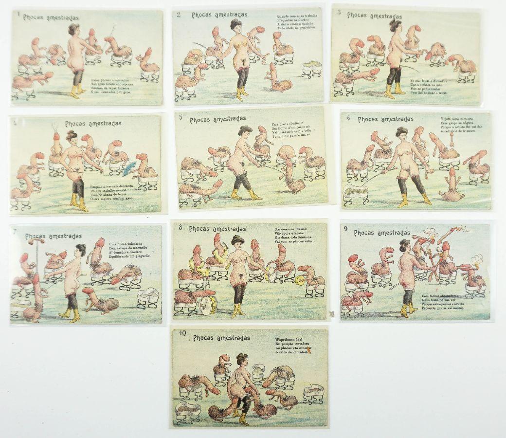 Bilhetes postais eróticos portugueses