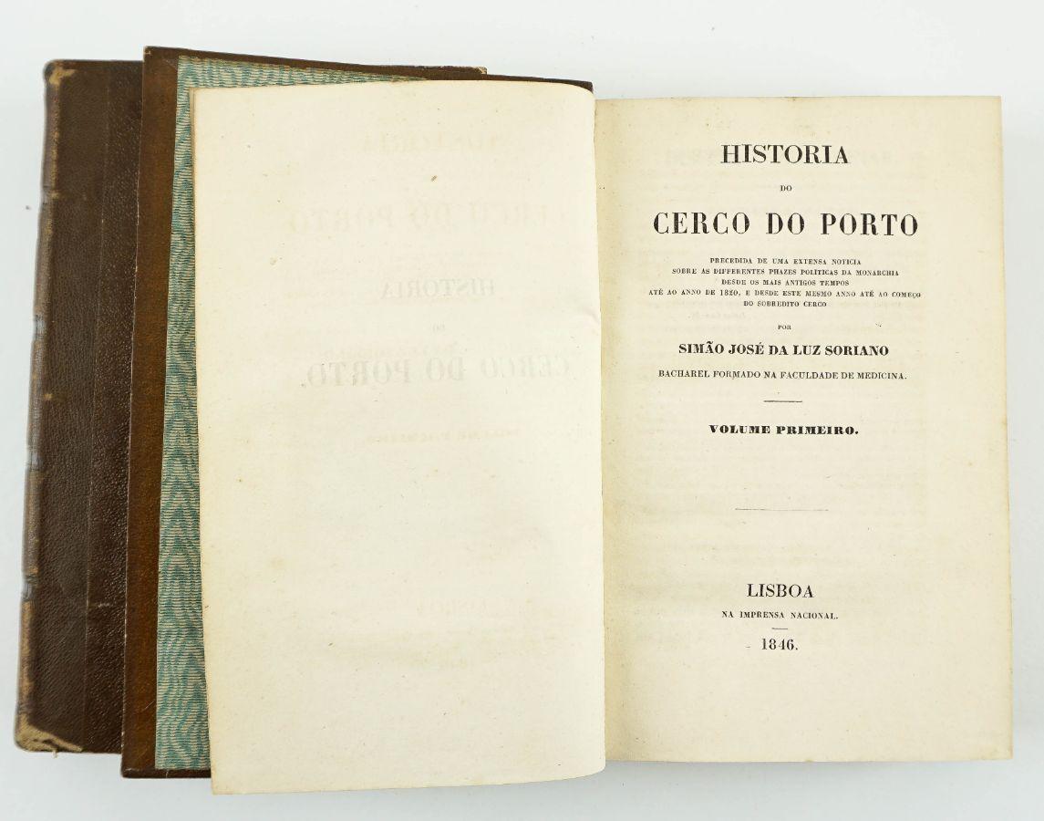 História do Cerco do Porto (1ª edição)