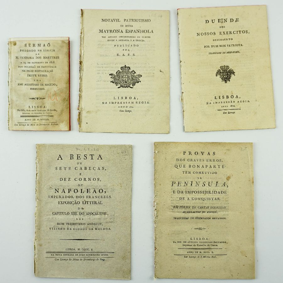 Folhetos antifranceses (1808-1810)