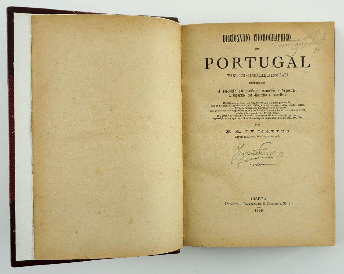 Dicionário Coreográfico de Portugal (1889)