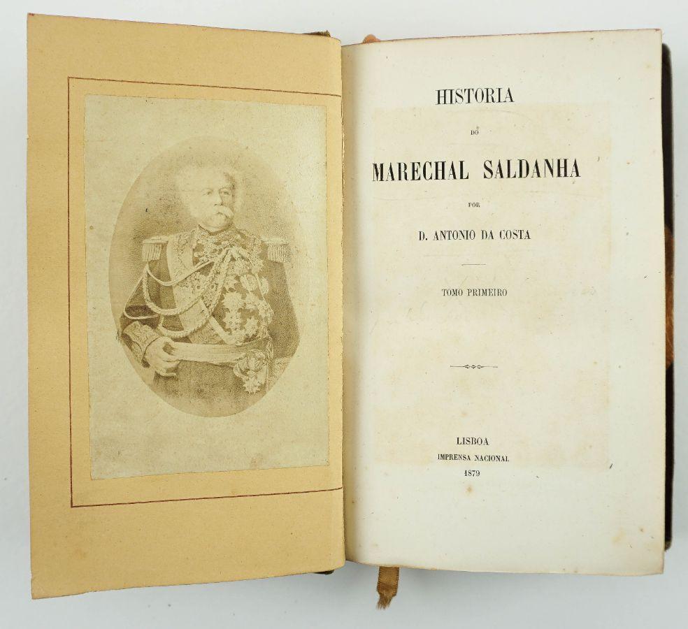 História do Marechal Saldanha (1879)