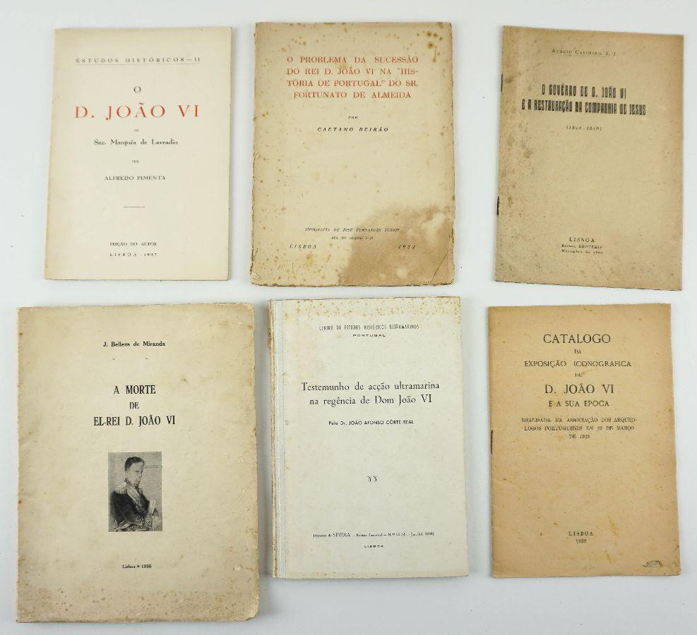 Obras sobre D. João VI: