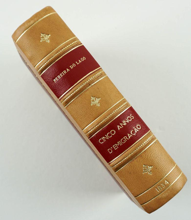 Raro livro de memórias de um emigrado liberal (1834)