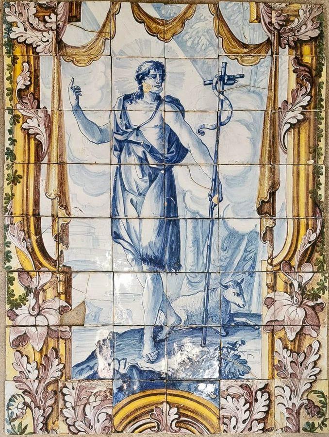 Painel de 48 Azulejos