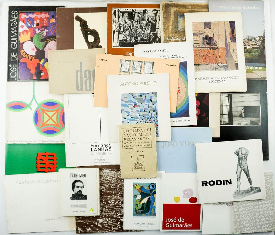 Livros e Catálogos de Artistas