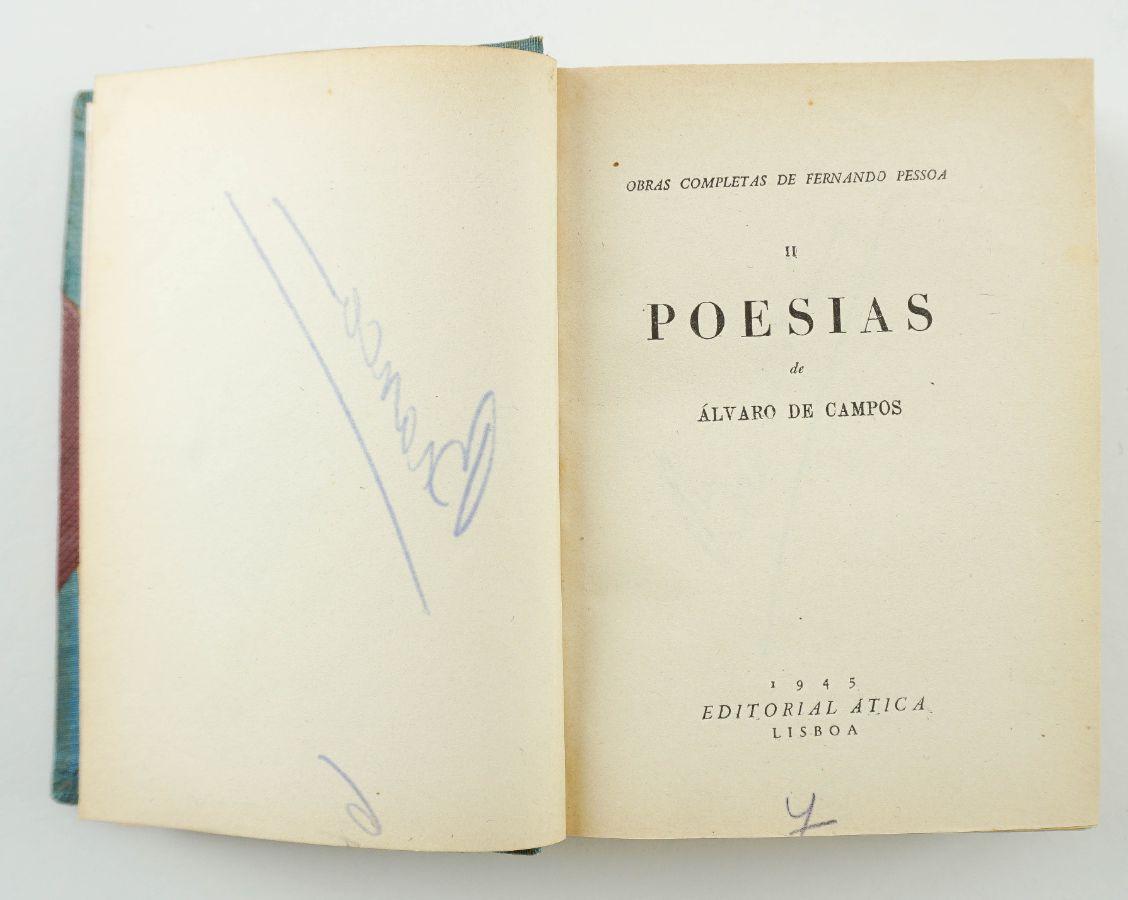 Obras Completas de Fernando Pessoa – Exemplar Único