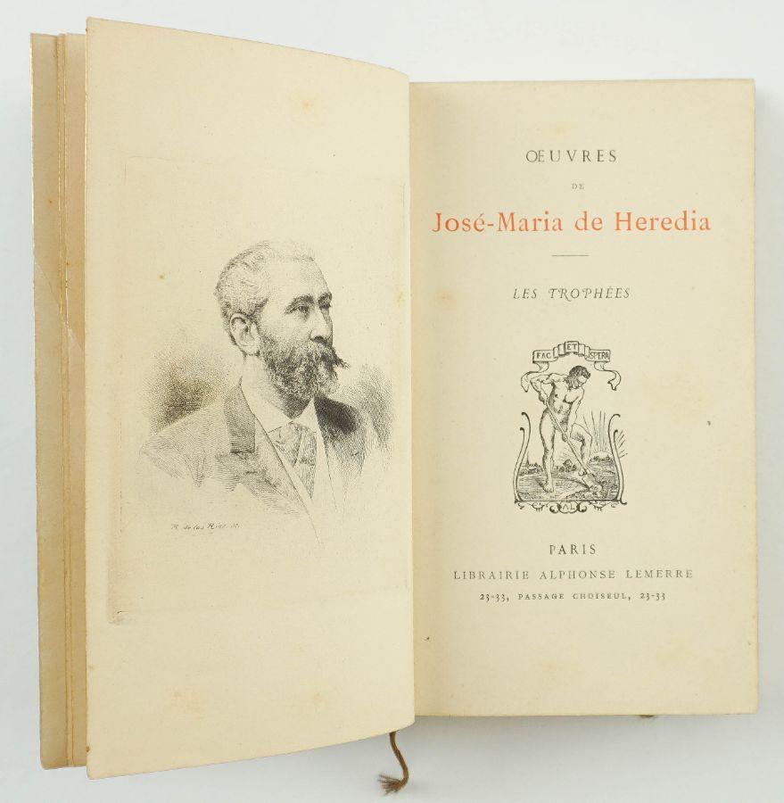 Oeuvres de José- Maria de Heredia