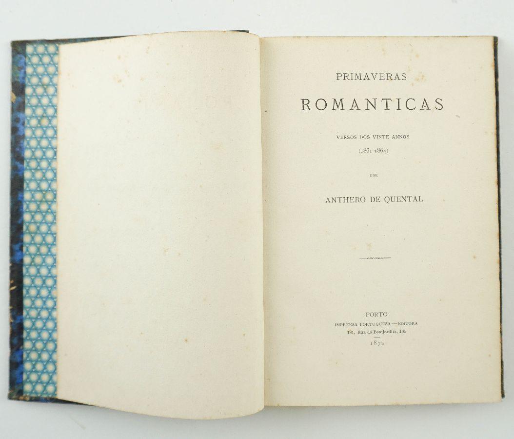 Antero de Quental – Primaveras Românticas