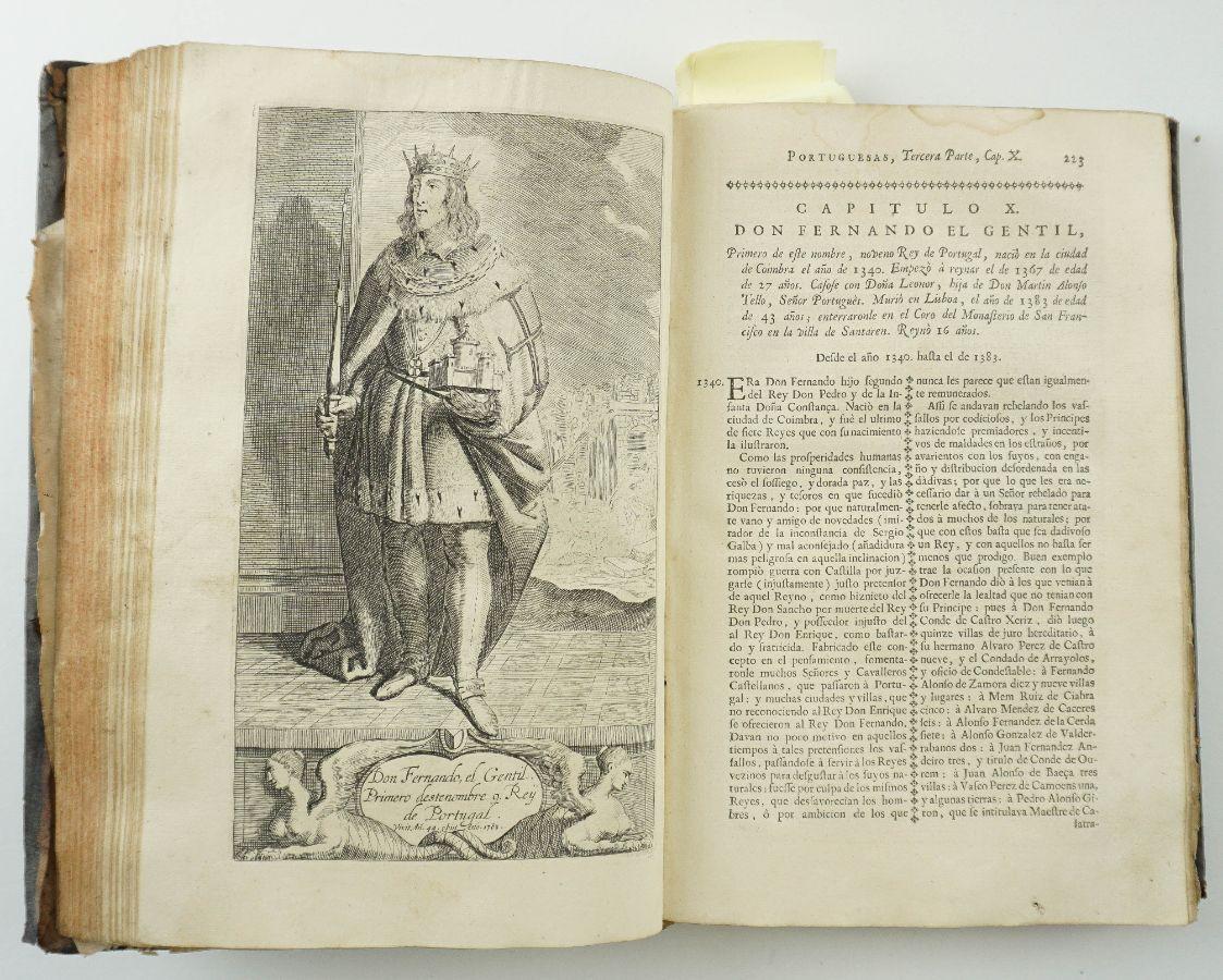 História Del Reyno de Portugal, 1730