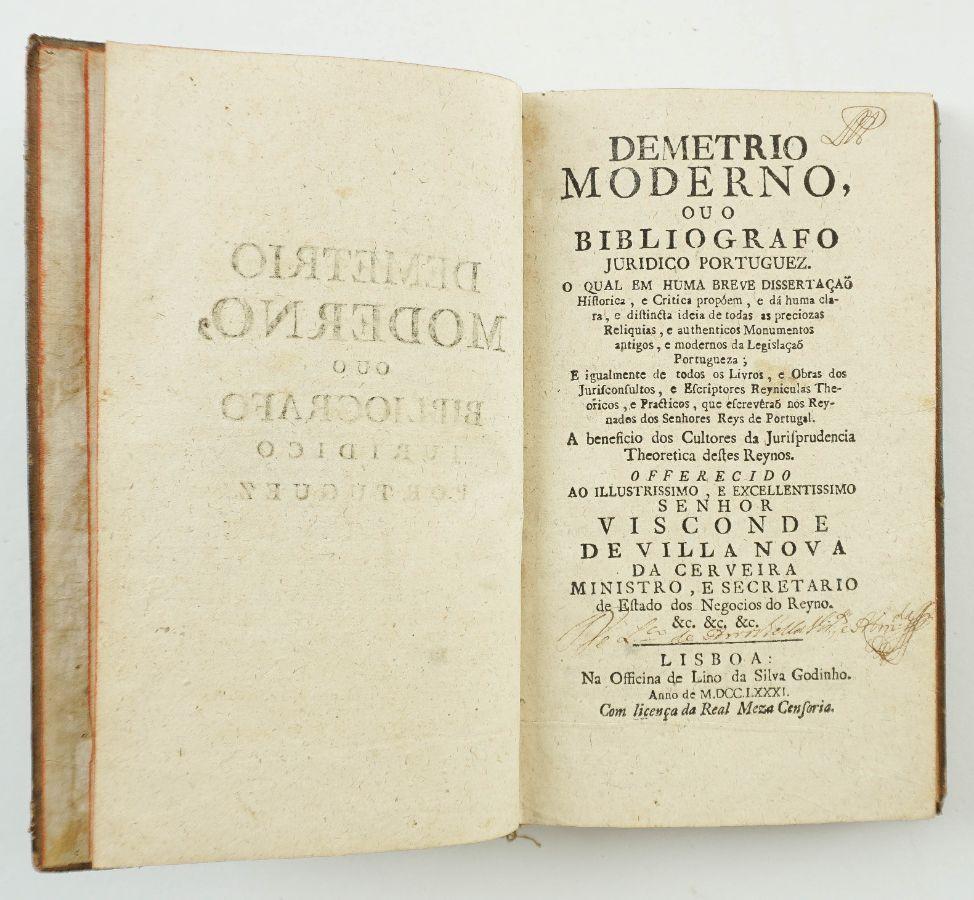 Demetrio Moderno – 1781